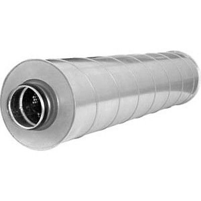 Silencer Slu 50 mm Insulated L=900/600mm Ø100 to 315 MM