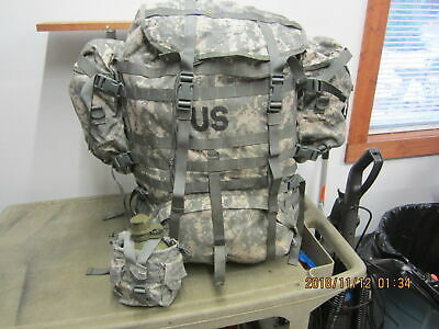 MILITARY ACU MOLLE LARGE RUCK SACK FIELD PACK Frame 2 Sustain Canteen Functional