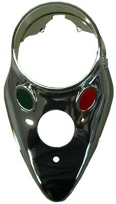 Clock Cover Catseye For Harley Davidson FLH,FXWG,FXST
