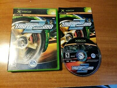 CIB Need for Speed: Underground 2 (Microsoft Xbox, 2004) Complete *TESTED*