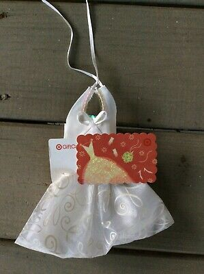 Target Collectible Gift Card - No $ Loaded - With Tiny Wedding Dress