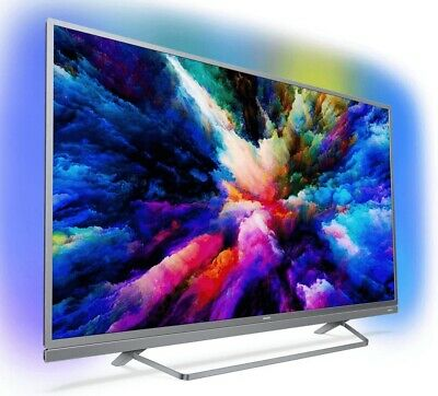 Philips 49PUS7503 LED-TV 49 Zoll, 4K Ultra HD, Smart TV, Android, USB-Aufnahme