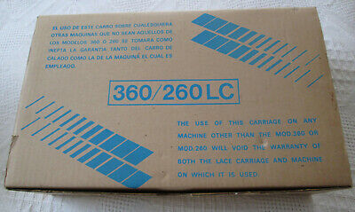 Singer Knitting machine MEMO MATIC Lace Carriage NEW!! LC2