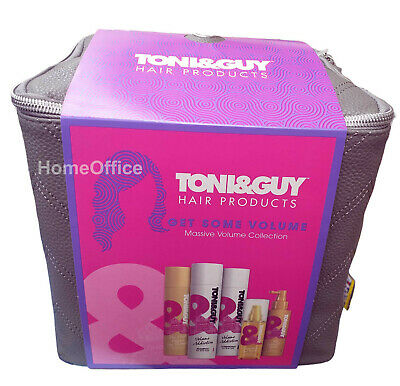 Toni & Guy Gift Set Bag Get Volume Complete Hair Collection Gift Set Xmas