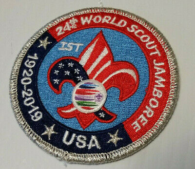 24th World Scout Jamboree 2019 Official USA Contingent Patch