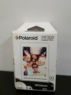 Polaroid PIF-300 Instant Film PIC 300 10 Best By 12-2018 Brand New And Sealed