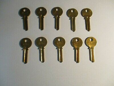 Eaton Yale and Towne Key Blanks, Lot Of 10 With Original Box Locksmith