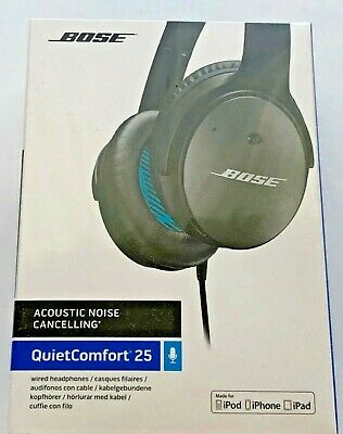 Bose - QuietComfort 25 - Noise Cancelling - Wired Headphones - for Apple devices