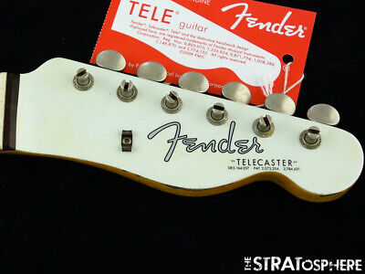 USA Fender Custom Shop 2019 NAMM '63 Telecaster Relic NECK TUNERS Tele *Rosewood