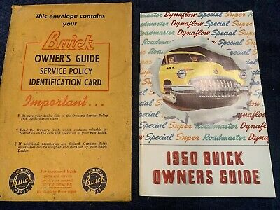 1947 Buick Roadmaster Owners Manual Guide User Guide Reference Operator Book OEM