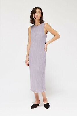 Lacausa Pleated tank Dress Like Issey Pleats La Garçonne Totokaelo MnZ