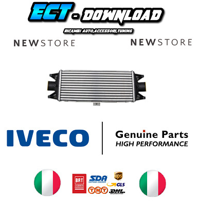 Intercooler DAILY 35C 504022617 504086501 5801313640 98487925 ORIGINALE IVECO