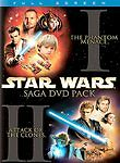 Star Wars Saga Episodes I  II. Phantom Menance & Attack of the Clones. 4-DVD Set