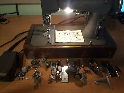 Vintage Free Westinghouse Sewing Machine Foot Pedal Tested with Extras Rare