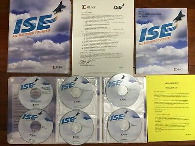 Xilinx ISE 4.1i EIA769704872 Design Environment Software Package