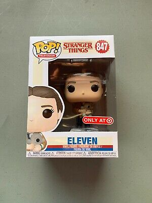 Stranger Things Season 3 Funko POP! TV Eleven Vinyl Figure #847 [Teddy Bear]