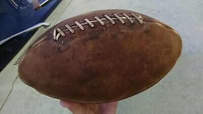 US ARMY Special Services Mac Gregor X5L Official Football Goldsmith WWII Vintage