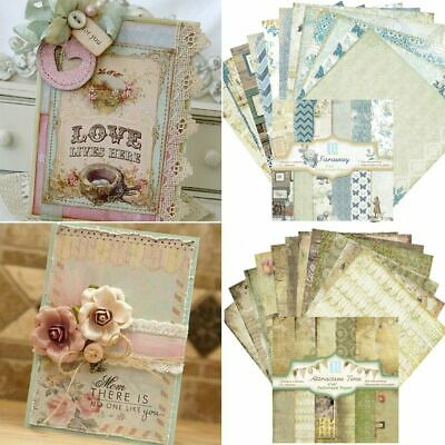Cutting Dies Paper Craft Pads Art Background Scrapbooking Card Making Origami