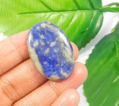 32 Cts. 100% Natural Sodalite Loose Cabochon Gemstone NG2226