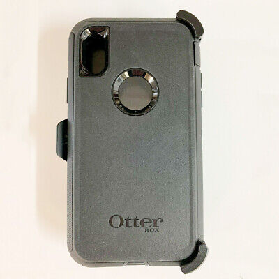 Otterbox Defender Series Case Cover for Apple iPhone XR with Holster Black