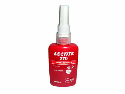 For Loctite 270 High Strength Threadlocker Metal Adhesive Glue 50 Ml