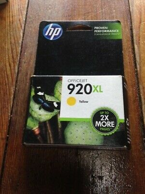 HP 920XL (T6M10AN) Yellow Ink Cartridge