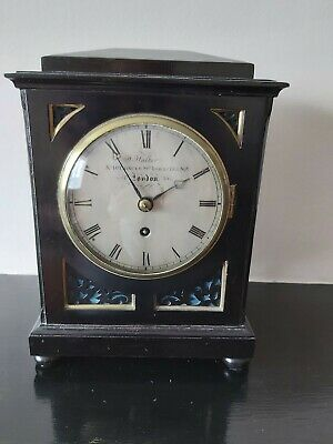 Antique  mantle clock by John Walker of London