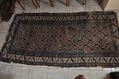 Antique Turkish hand.knotted carpet