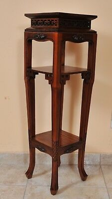 Antique Chinese Flower stand, 19th century, restored condition