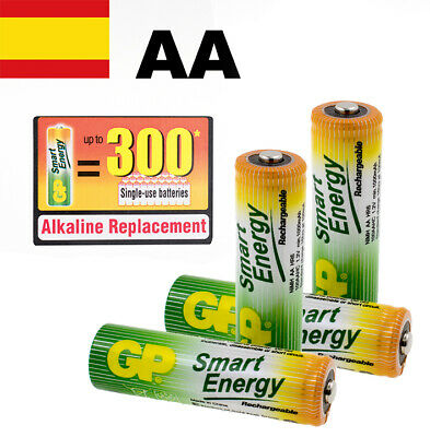 Pilas Recargables Aa Blister X 4 Gp Smart Energy Baterias Recargables