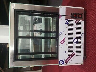 Commercial Display Fridge Refrigerator Glass Stainless Steel