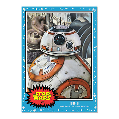 2019 Topps Star Wars Living Set Card #29 Bb-8 In Hand