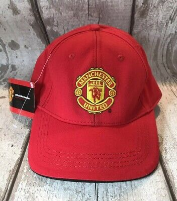 Manchester United Team Champions Adult Baseball Cap - Bnwt - Man Utd