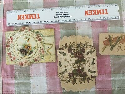 Die Cut Cards From Early 1900s Australia