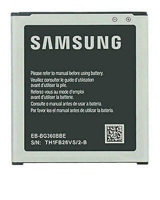 GENUINE SAMSUNG EB-BG360BBE BATTERY FOR GALAXY CORE PRIME G360 G361 | 2000mAh