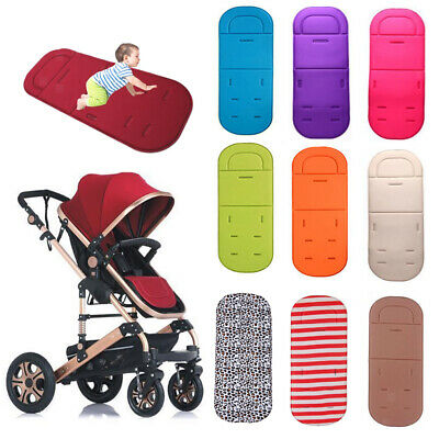Universal Baby Kids Soft Stroller Pram Pushchair Car Seat Liner Pad Cushion Mat