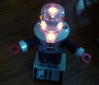 1998 Space Productions 'Lost In Space' B-9 Robot - Working - 2 Ft Tall!