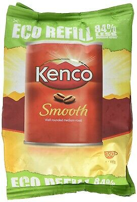 Kenco Smooth Instant Coffee Refill Bag 650g