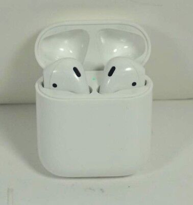 Excellent Used Apple AirPods 2nd Gen w/Wireless Charge Case MRXJ2AM/A Headphones