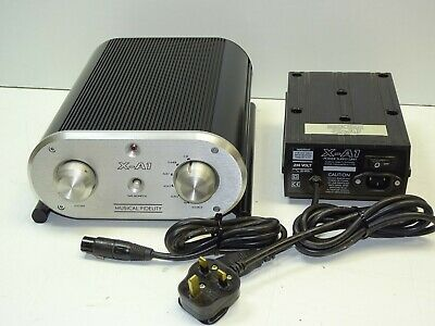 Musical Fidelity X-A1 Hi Fi System Integrated Stereo Amplifier + X-A1 PSU Unit