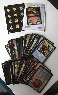 Vintage Harry Potter Trading Card Set - Playmat, Cards, Counters +Rules - Age 9+