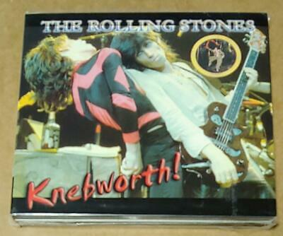 The Rolling Stones KNEBWORTH! 2 CD 2002 Red Devil RD004-1/2 LIVE 1976 OOP SEALED
