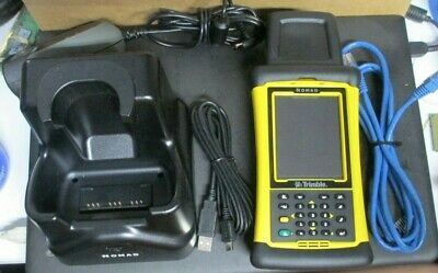 Trimble Nomad Data Collector Handheld Computer Charger, USB adapter, Base Networ