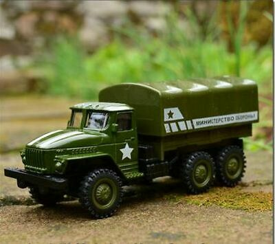 1:64 Alloy Pull-back Military Vehicle Model Diecast Military Truck Metal Model