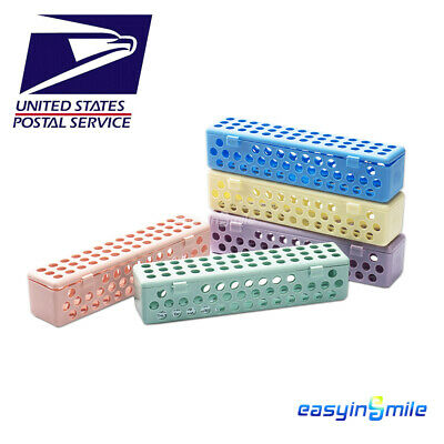 Easyinsmile Dental Instrument Sterilization Container Tray Cassette Autoclavable