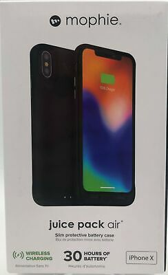 Mophie Juice Pack Air Slim Protective Battery Case for iPhone X - 848467077155