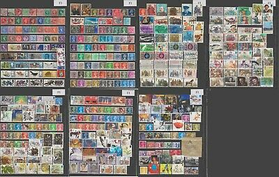 Great Britain (United Kingdom)  large postage collection all different, 7 img.
