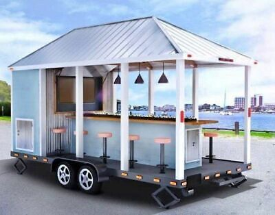 2018 - 8' x 16' Unique Party Trailer / Tailgate Party Trailer for Sale in New Ha