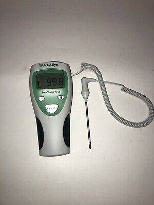 Welch Allyn 690 SureTemp Plus Thermometer w/4' Oral Probe, 3 Boxes Probe Covers!