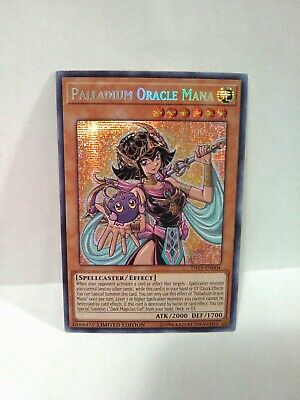 Yugioh Palladium Oracle Mana Silver Holo Rare Prismatic Limited Ed Tn19-en004